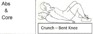 CrunchBent Knee
